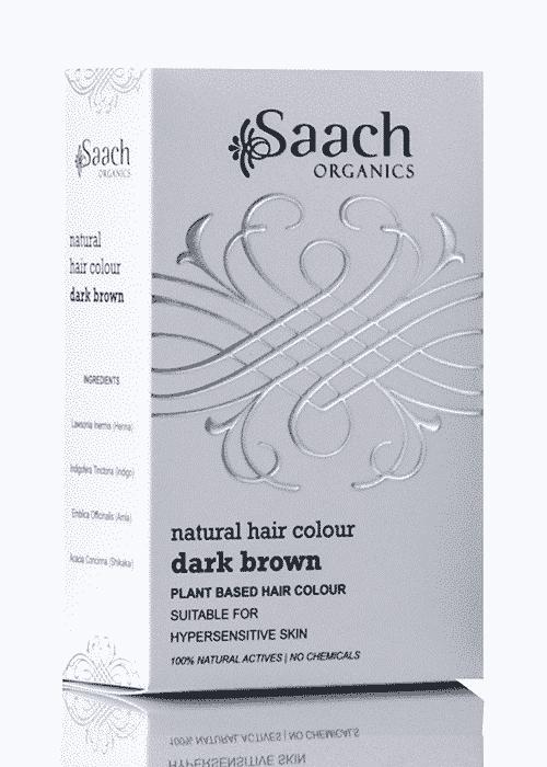 Dark Brown Natural Hair Colour by Saach Organics