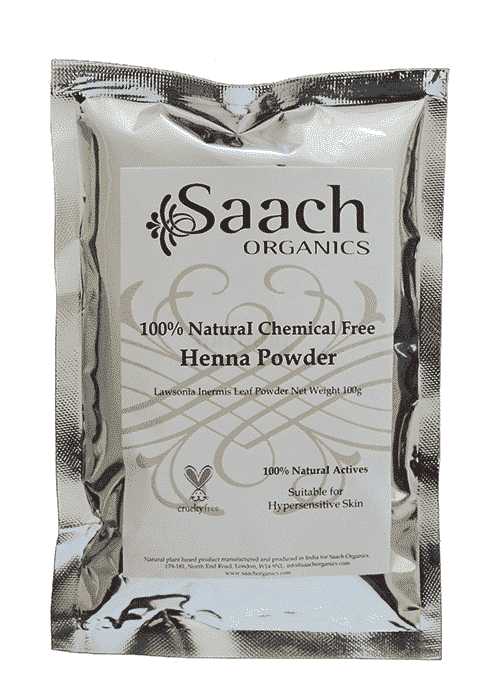 Natural Chemical Free Henna Powder | Henna Hair Colour | Henna Hair Dye | Saach Organics