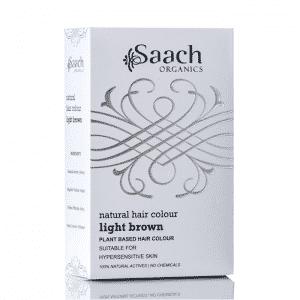 Light Brown Natural Hair Colour by Saach Organics
