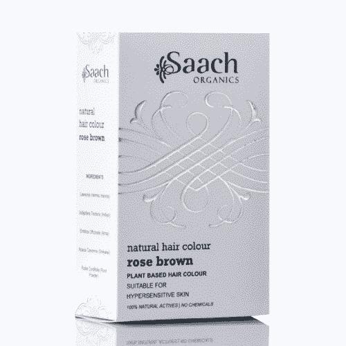 Rose Brown Natural Hair Colour by Saach Organics