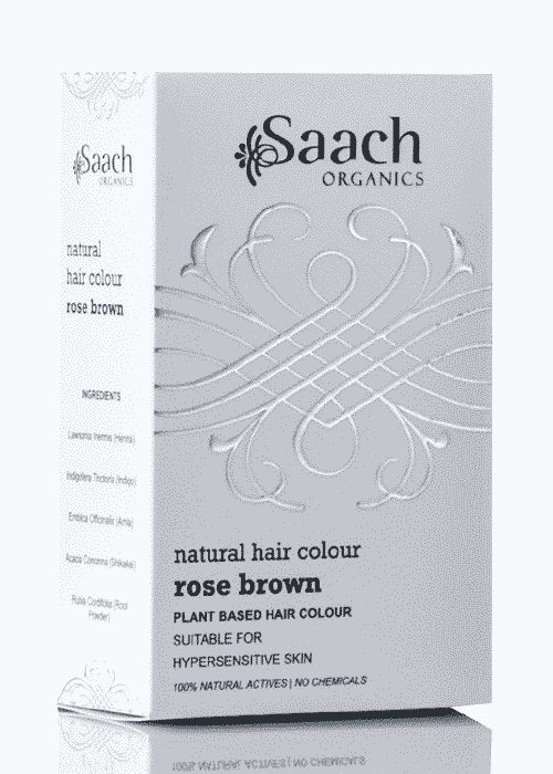 Rose Brown Natural Hair Colour by Saach Organics