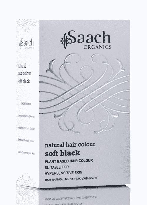 Soft Black Natural Hair Colour by Saach Organics