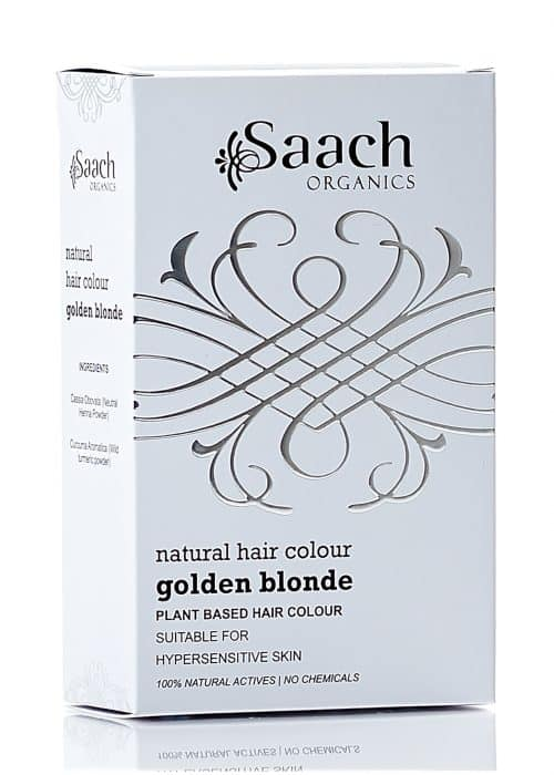 Golden Blonde Natural Hair Colour by Saach Organics